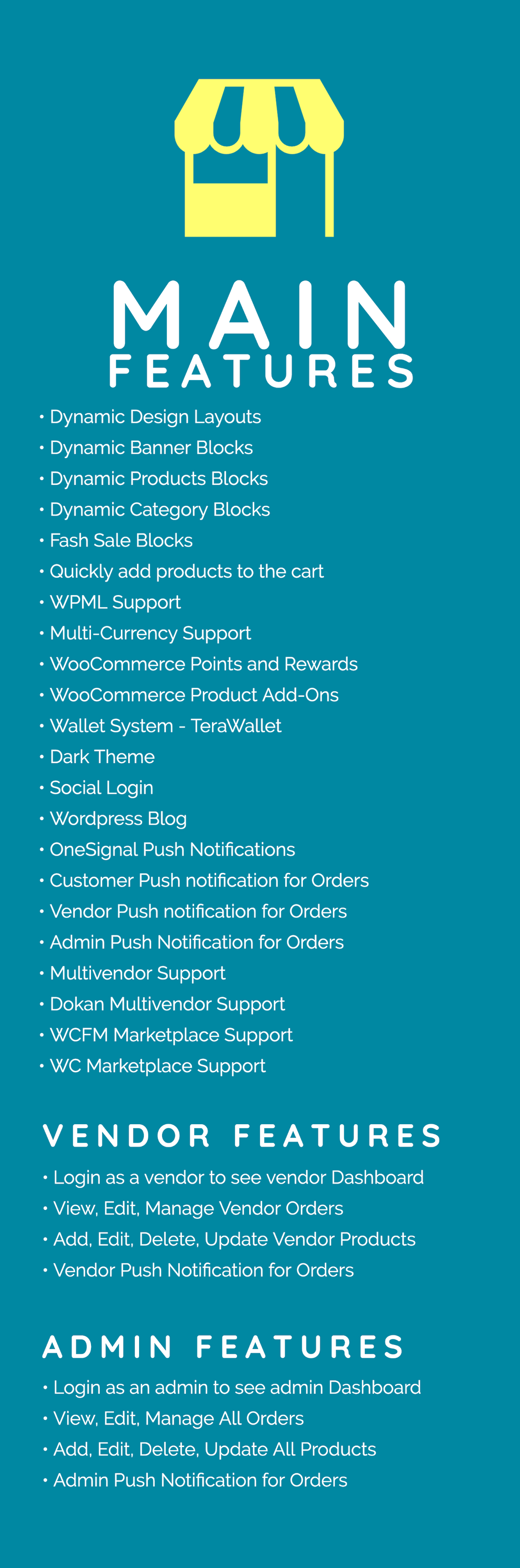 Quick Order ionic 5 mobile app for woocommerce with multivendor features - 3